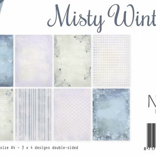 Papierset - Misty Winter