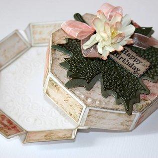 Polybesaschablone - Geschenkbox