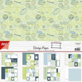Scrap Designpaper - Project life - So Cool