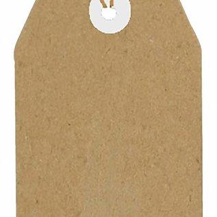 Kraftpapier Tag  112x56 mm 8089/0265