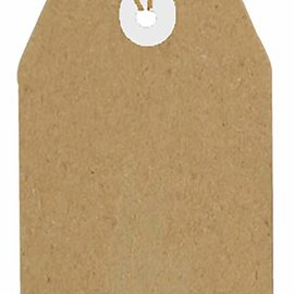 Kraftpapier Tags 94x47 mm  8089/0264