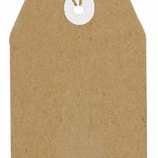 Kraftpaper Tags 94x47 mm 8089/0264