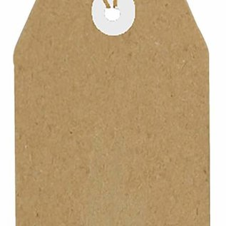Kraftpapier Tags 94x47 mm  8089/0264