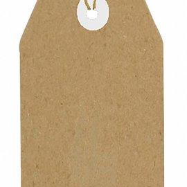 Kraftpaper Tags 80x40 mm 8089/0263