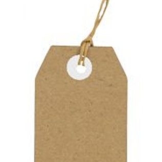 Kraftpapier Tags 30x50 mm 8089/0262