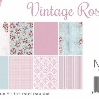 Papierset - Design Vintage Roses