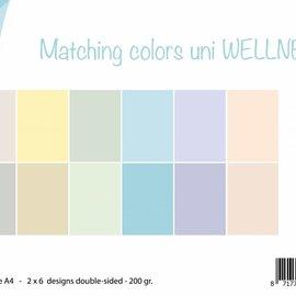 Paperset - Matchingcolors uni - Wellness