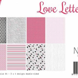 Papierset -  Love Letters