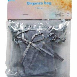 Organza Beutel - Silber 6300/0045