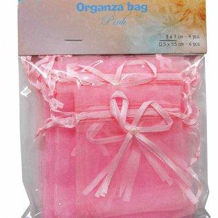Organza Beutel - Rosa