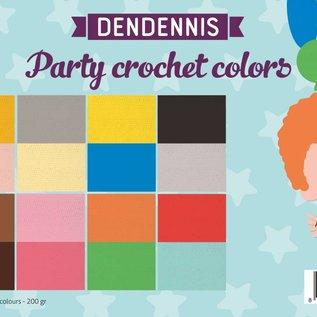 Paper Set - Dendennis Party crochet colors