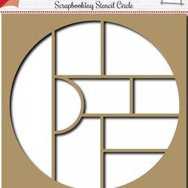 Scrapbooking Template Circle 6002/0857