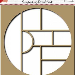 Scrapbooking Template Circle