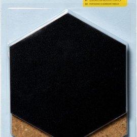 Blackboard & Pinboard Hexagon 8200/0205