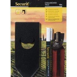Securit Chalkboard tags for bottles