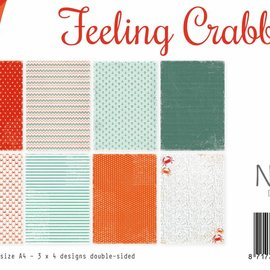 Paperset A4 - Design Feeling Crabby
