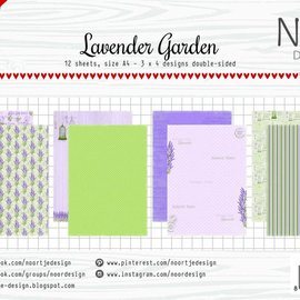 Paper set - Lavender Garden 6011/0591