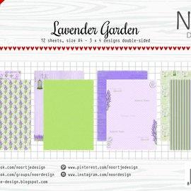 Papierset - Lavender Garden 6011/0591
