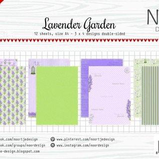 Papierset - Lavender Garden