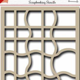 Scrapbooking template - wave 6002/0867