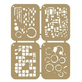Scrap mask templates - grunge 6002/0862