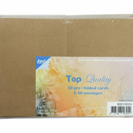 Cards & Envelopes Kraft C6 8001/0024