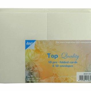 TOP Quality Karten & Umschläge Elfenbein C6