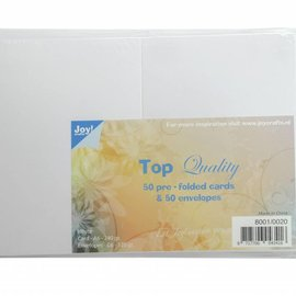Cards & Envelopes White C6 8001/0020