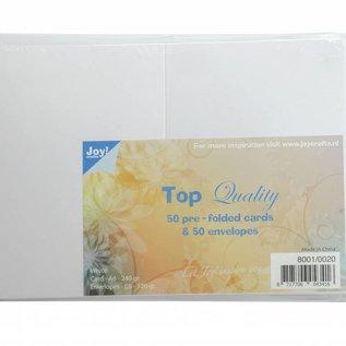 TOP Quality Karten & Umschläge Weiß C6