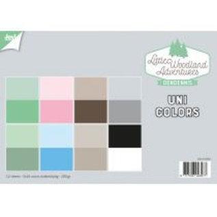 Papierset - LWA - Uni Colors