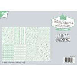 Papierset - LWA - Design Mint 6011/0579