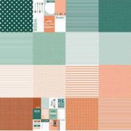 Designpapier - Dots&Stripes 6011/0574