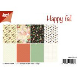 Papierset - Happy Fall/Mushroom Autumn