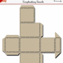 Scrap Box Schablone -  Candy Dispenser 6002/0868