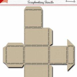 Scrap Box Stencil - Noor - Candy Dispenser 6002/0868