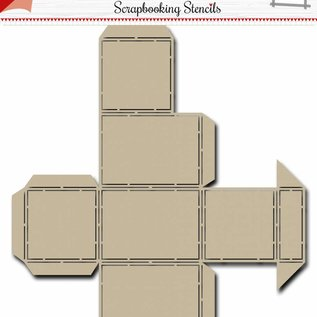Scrap Box Schablone  - Noor -  Candy Dispenser
