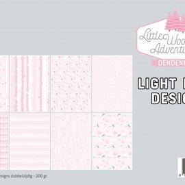 Papierset - LWA - Design Rosa 6011/0580