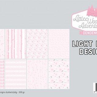 Papierset - LWA - Design Rosa