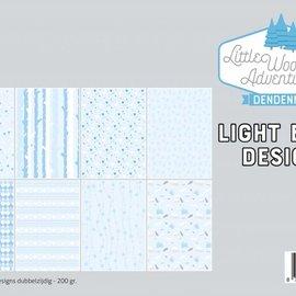 Papierset - LWA - Design Hellblau 6011/0581