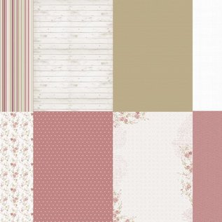 Papierset - Pink Petals