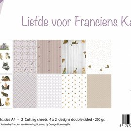 Paper set - Cat love 6011/0577