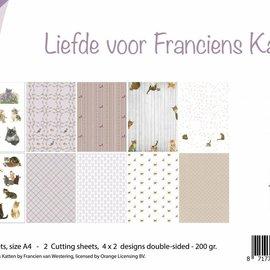 Papierset -  Katzenliebe 6011/0577