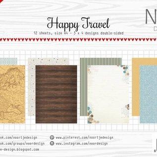 Papierset -  Happy Travel