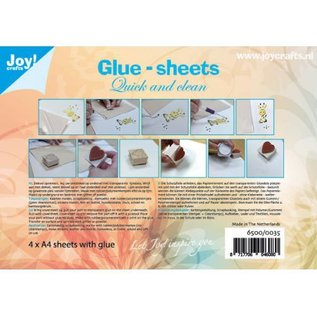 Micro Glue dots A4 - Fast and clean