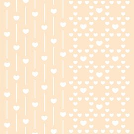 Polybesa Schablone - Lovetime 6002/0871
