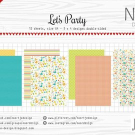 Paper Set - Noor - Design Let's Party 6011/0609