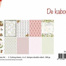 Cutting Sheet / Paper Set - Rien Poortvliet - Gnome 6011/0604