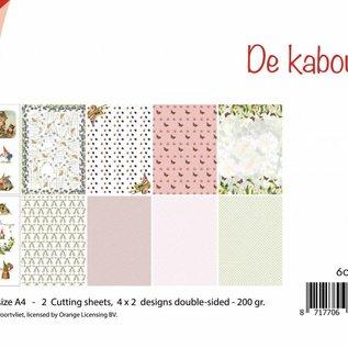 Schneidebogen/Papierset - Rien Poortvliet - Gnome