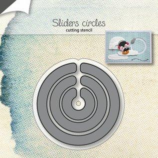 Punching templates - slider circle