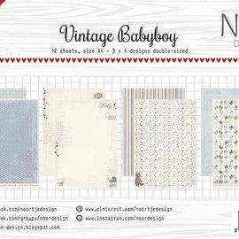 Paper Set - Design Vintage Babyboy 6011/0607